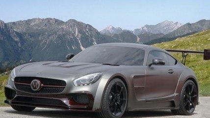 Стайлинг-пакет для Mercedes-AMG GT S от тюнинг-ателье Mansory