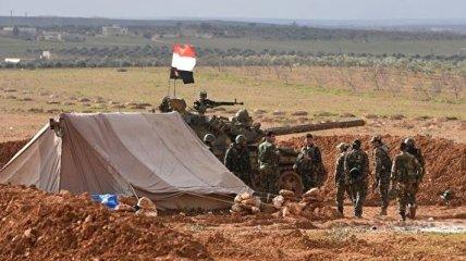 Силы Асада заняли покинутую американскую базу в Сирии