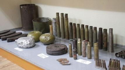 В школьно музее нашли активный снаряд