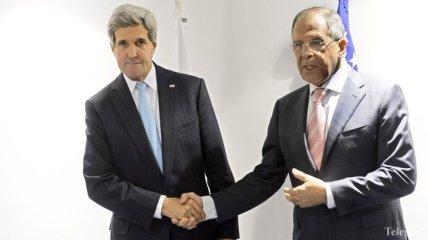 Керри обсудил с Лавровым ситуацию в Украине