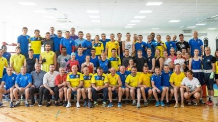 Назван состав сборной Украины по боксу на Европейские игры 2019