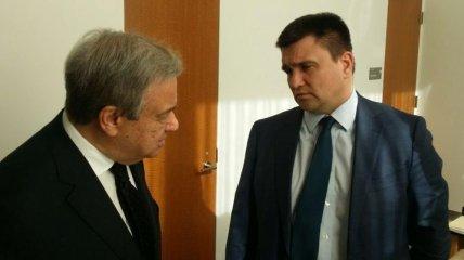 Климикин обсудил Минские соглашения с Генсеком ООН
