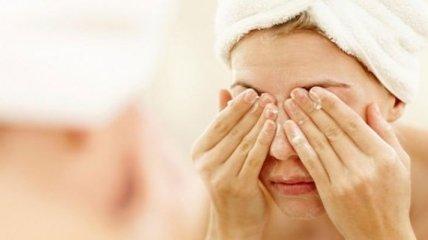 Умывание почти не влияет на бактерии, живущие на коже лица