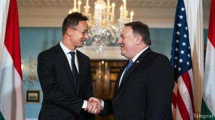 Помпео призвал премьера Венгрии не блокировать отношения Украины и НАТО