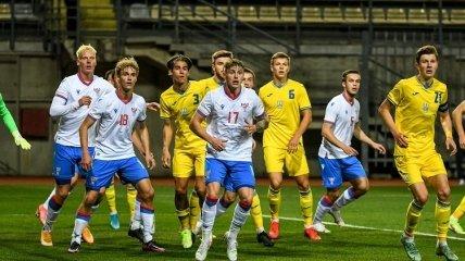 Украина U-21 — Фарерские острова U-21