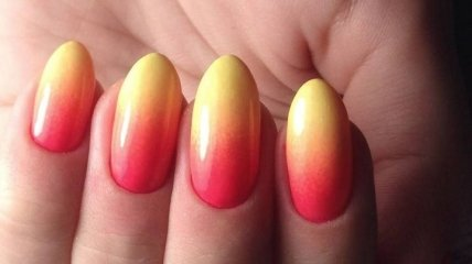 Маникюр 2019: омбре на ногтях для поклонниц оригинального маникюра (Фото)