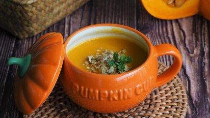Як приготувати гарбузовий суп