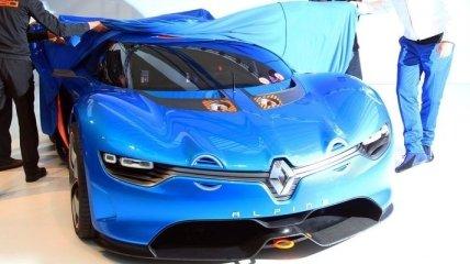 Жан Рагнотти и суперкар Renault Alpine A110-50 (Видео)