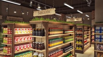 На прилавках украинских магазинов все больше товаров в герметичных упаковках.