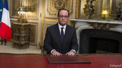 Олланд о нападении на редакцию Charlie Hebdo