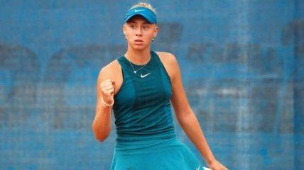 Украинка Лопатецкая выиграла теннисный турнир в Японии