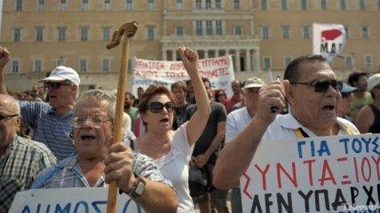 В Греции прошла массовая манифестация
