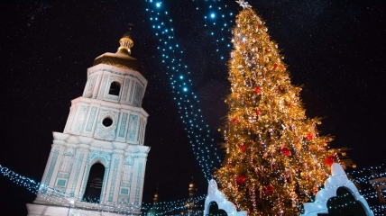 В Киеве уже планируют, как будет выглядеть Софиевская площадь на Новый Год