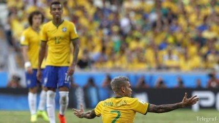 ЧМ-2014. Бразилия не смогла переиграть Мексику