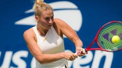 Украинка Марта Костюк впервые пробилась в третий круг US Open