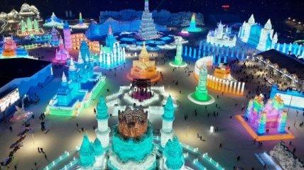 Ледяное царство: фестиваль льда и снега в Харбине 2019 (фото)