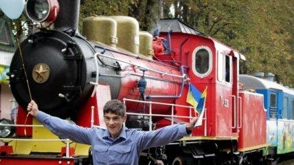 Состоялось открытие сезона детской ж\д дороги в Киеве