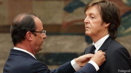 Пол Маккартни выкупит награду Франции