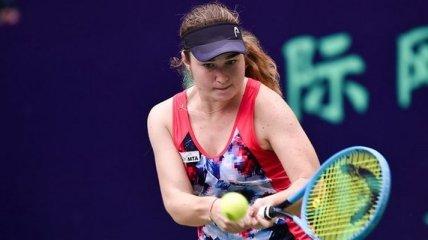 Не повезло: Снигур проиграла лидеру посева на турнире в Шэньчжэне