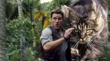 Парк кошачьего периода: кто-то заменил динозавров на кошек, и это очень весело