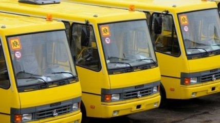 Львовской области подарили 26 школьных автобусов