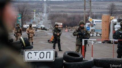 Террористы обстреляли позиции сил АТО 50 раз