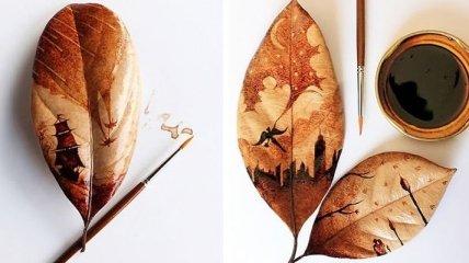 Кофейные рисунки от индонезийского художника (Фото)