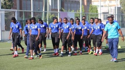 Танзанийские футболистки
