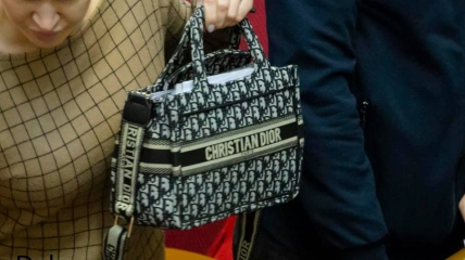 Маргарита Шол и ее Dior Book Tote mini за 67653 грн