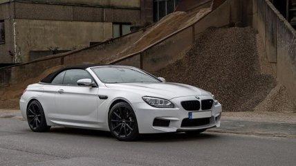 Красивый тюнинг кабриолета BMW M6