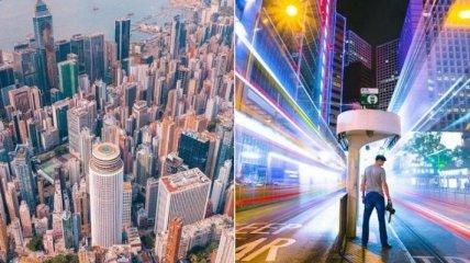 Удивительные городские пейзажи Гонконга от Виктора Ченга