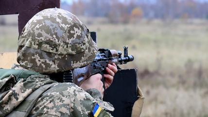 Украинские военные контролируют ситуацию в зоне проведения ООС.