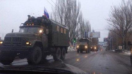 Доказательства пребывания военной техники РФ на Донбассе (Видео)