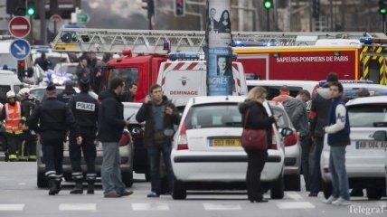 Нападение на редакцию журнала в Париже (Фото, Видео)