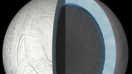 """Космический зонд """"попробует"""" воду на спутнике Сатурна"""