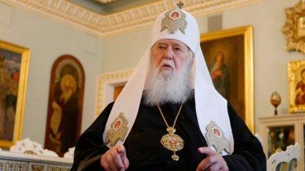 Филарет прокомментировал письмо с угрозами Варфоломею от главы РПЦ