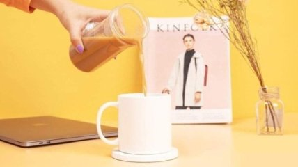 Xiaomi презентовала смарт-чашку с автоподогревом (Фото)