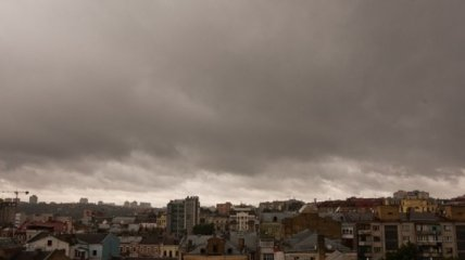 Сегодня украинцы увидят серое и дождливое небо