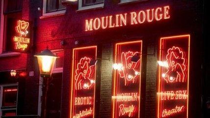 В Амстердаме закроют четверть квартала красных фонарей