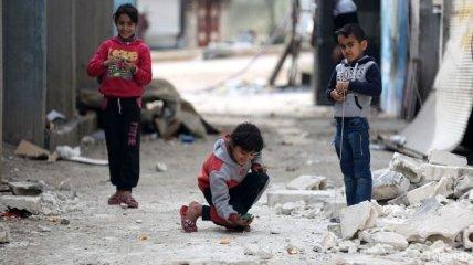 Война в Сирии: из-за авиаударов погибли 15 детей