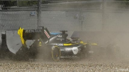 Авария Риккардо во время второй практики Гран-при Штирии-2020 (Видео)