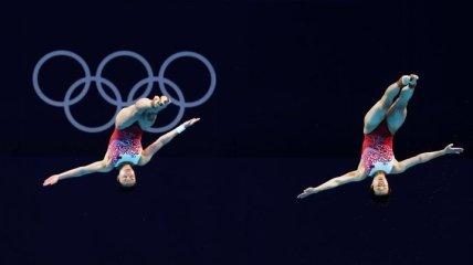 Китай вновь возглавил медальный зачет Олимпиады после победы в синхронных прыжках в воду