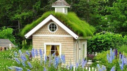 Маленькие уютные домики для отдыха с волшебным дизайном (Фото)