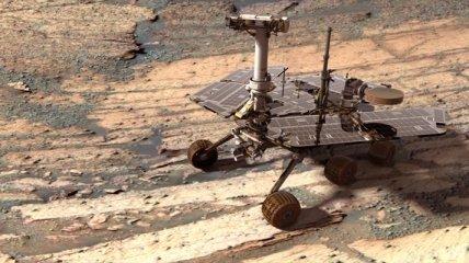 Марсоход Opportunity продолжил работу несмотря на проблемы с памятью