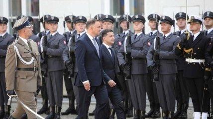 Зеленский готов решить вопрос с эксгумацией в польских захоронениях