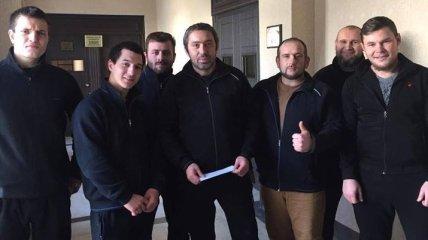 """Бывших военных батальона """"Донбасс"""", задержанных в Тбилиси, выпустили под залог"""