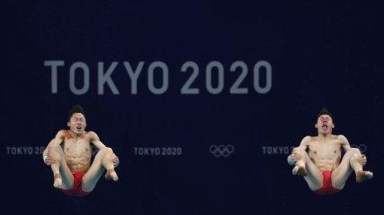 Китай вырвался вперед в медальном зачете Олимпиады после победы прыгунов в воду