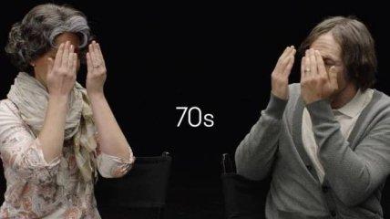 100 лет красоты старения влюбленных в одном ролике (Видео)