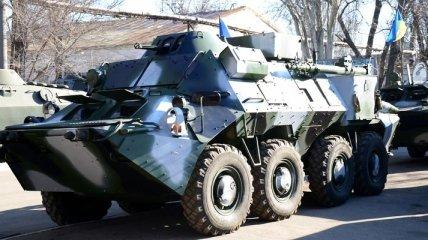 """Украинские военные получили первые бронемашины """"Свитязь"""""""
