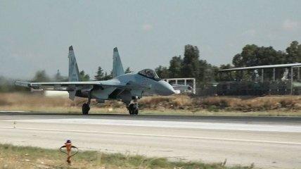 Российские самолеты осуществили масштабную атаку по зоне деэскалации в Сирии